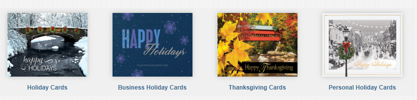 business holiday cards custom printed - Custom Holiday Cards For Business